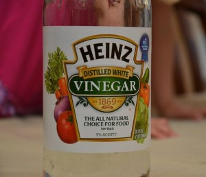 Vinegar weed killer myth