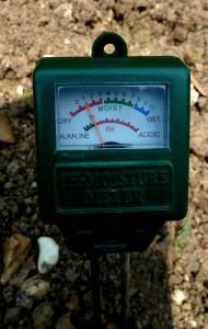 electronic soil pH meter