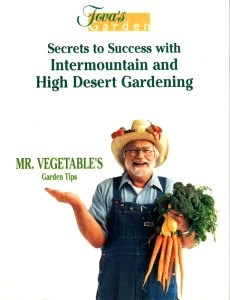 Tova Roseman's book, Mr. Vegetables Garden Tips